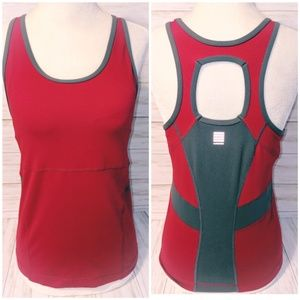 Lands' End Fitness Tank • Fitted Racerback Tank